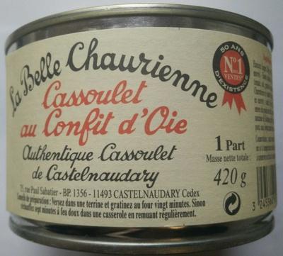 Cassoulet au Confit d'Oie - Product