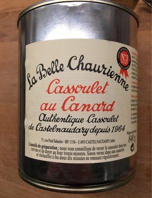 Cassoulet au Canard - Authentique Cassoulet de Castelnaudary - Produit
