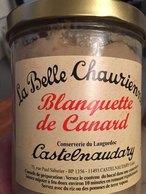 Blanquette de Canard - Produit - fr