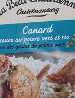 Canard sauce poivre vert - Produit - fr