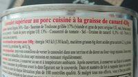 Cassoulet de Castelnaudary - Ingrediënten - fr