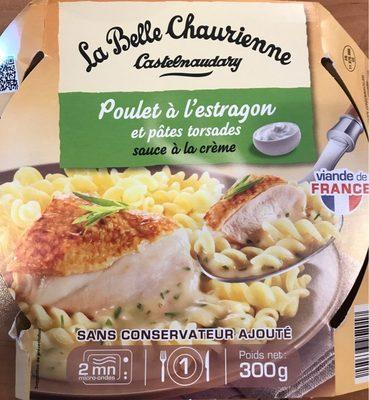Poulet à l'Estragon et Pâtes torsades - Produit