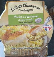 Poulet à l'Estragon et Pâtes torsades - Produit - fr