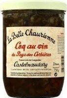 Coq au vin de Bergerac LA BELLE CHAURIENNE - Product - fr