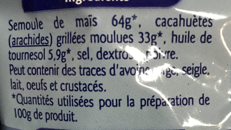 Soufflés à la cacahuète - Ingrédients - fr