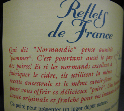 Poiré de Normandie (2 % vol.) - Ingredients - fr