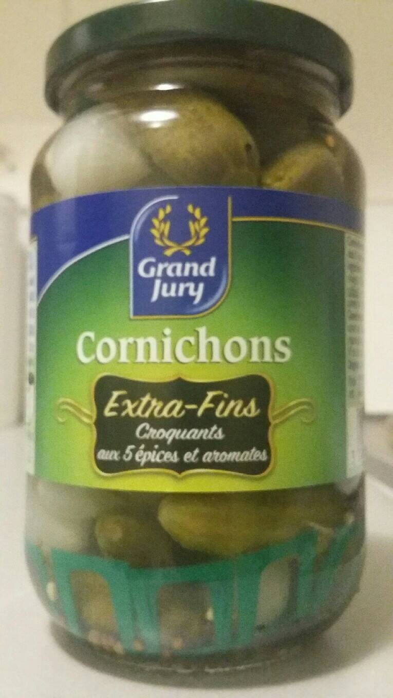 Cornichons - Nutrition facts