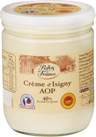 Crème Fraîche d'Isigny AOP (40% MG) - Product - fr