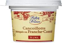Cancoillotte à l'ail (8 % MG) - Product - fr