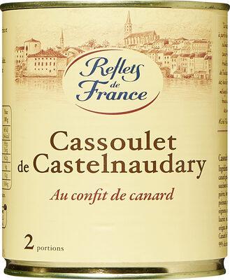 Cassoulet de Castelnaudary aux cuisses de canard confites - Produit - fr