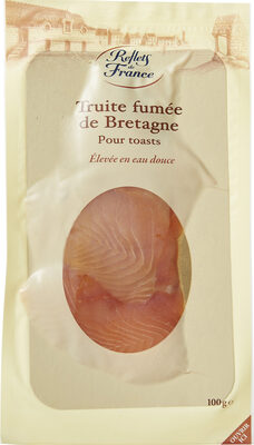 Truite fumée d'Aquitaine Elevée en eau douce MINI TRANCHES - Produit - fr