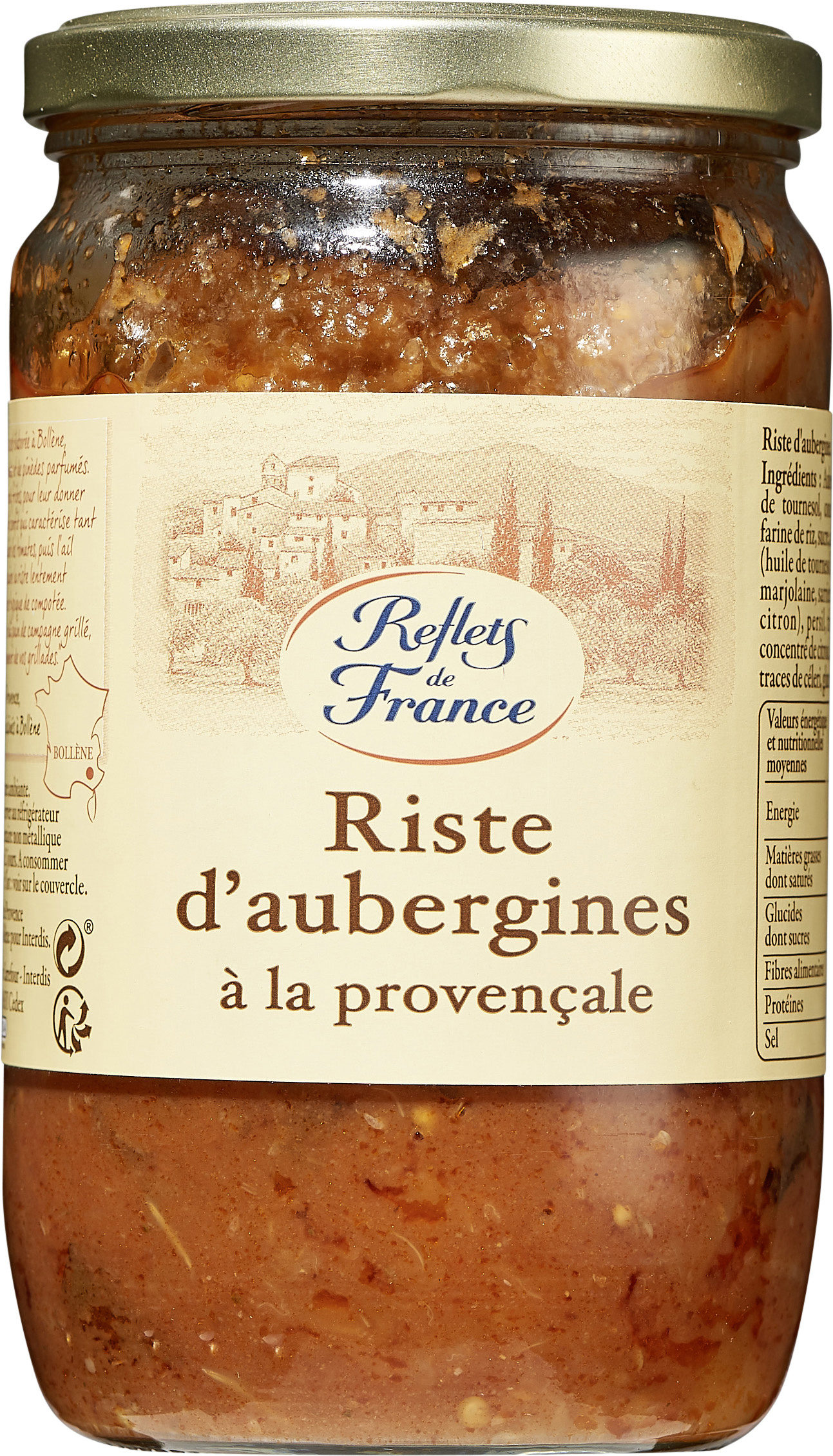 Riste d'Aubergines à la Provençale - Product
