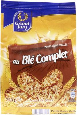 Petits pains grilles au blé complet - 10