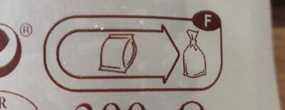 2 saucisses de Montbéliard IGP à cuire - Instruction de recyclage et/ou information d'emballage