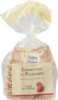 Lunettes de Romans fourrées à la fraise de la Drôme - Produit - fr