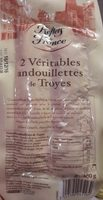 2 Véritables Andouillettes de Troyes - Product