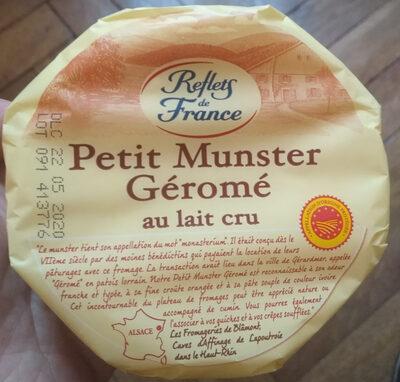 Petit Munster Géromé au lait cru - Product