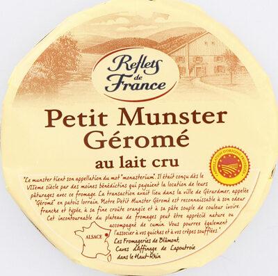 Petit Munster Géromé au lait cru - Product - fr