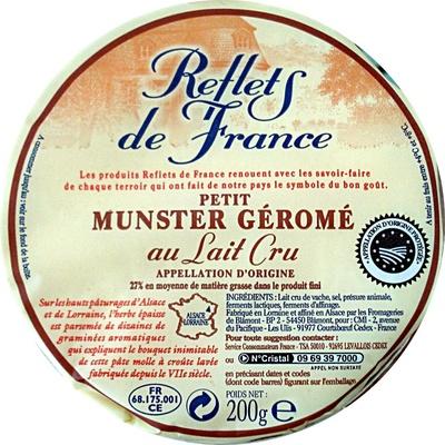 Petit Munster Géromé - Product