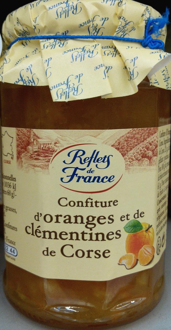 Confiture d'oranges et de clémentines de Corse - Produit