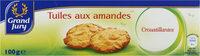 Tuiles aux amandes croustillantes - 产品 - fr