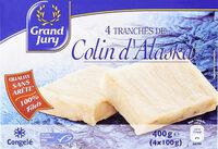 4 tranches de Colin d'Alaska - Product - fr