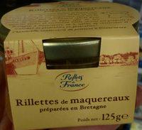 Rillettes de maquereaux préparées en Bretagne - Produit - fr