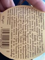 Rillettes de maquereaux préparées en Bretagne - Informations nutritionnelles - fr