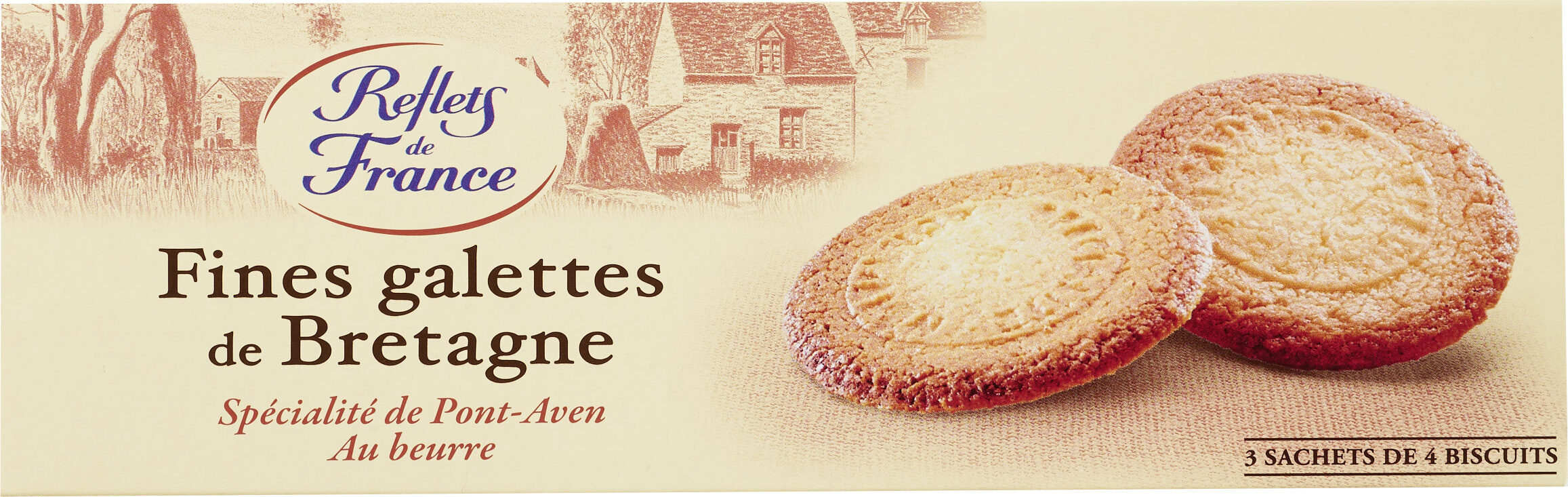Galette Bretonnes 100g Reflets de France - Produit - fr