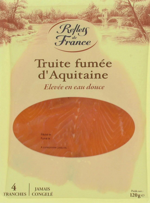 Truite fumée d'Aquitaine élevée en eau douce - Produit - fr