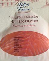 Truite fumée de Bretagne - Produit