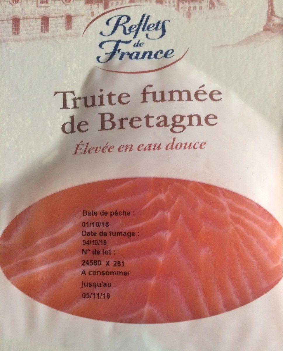 Truite fumée de Bretagne - Product