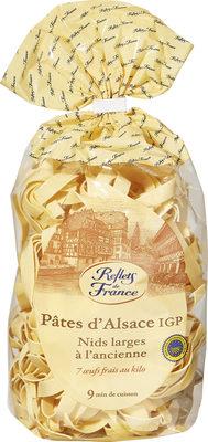 Pâtes d'Alsace IGP - Nids larges à l'ancienne - Produit