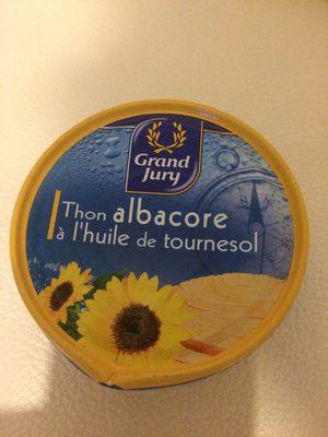 Thon albacore à l'huile de tournesol - Product