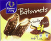 Bâtonnets vanille chocolat - Product