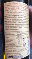 Huile d'olive de Nyons - Ingredients