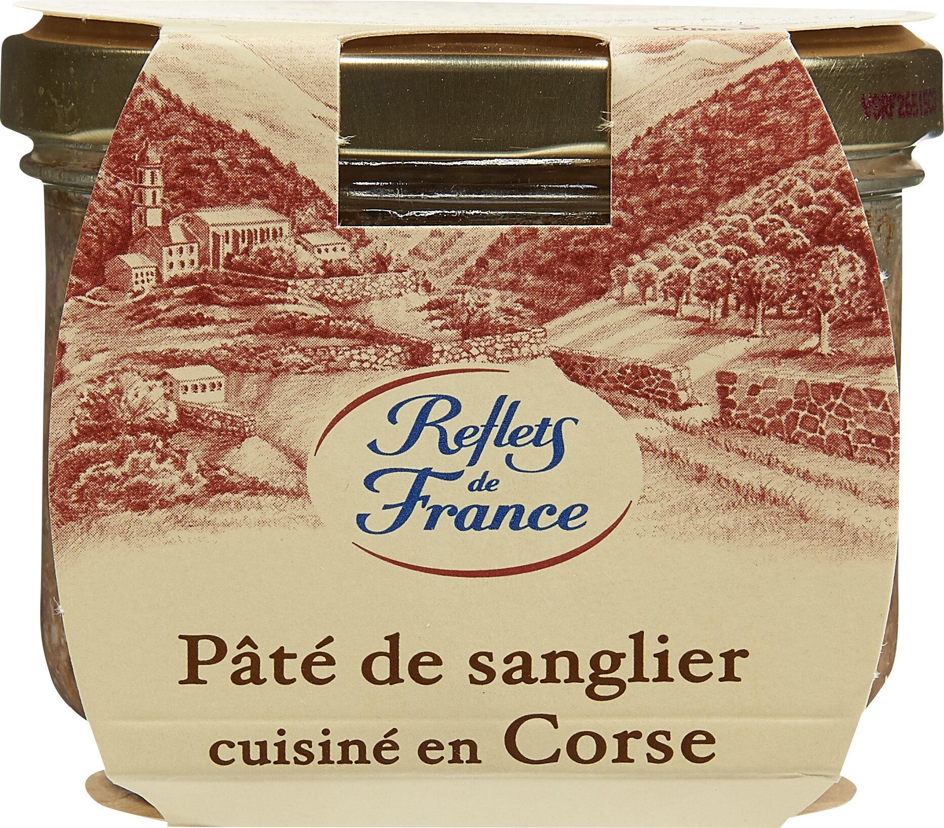 Pâté de sanglier cuisiné en Corse - Produit - fr