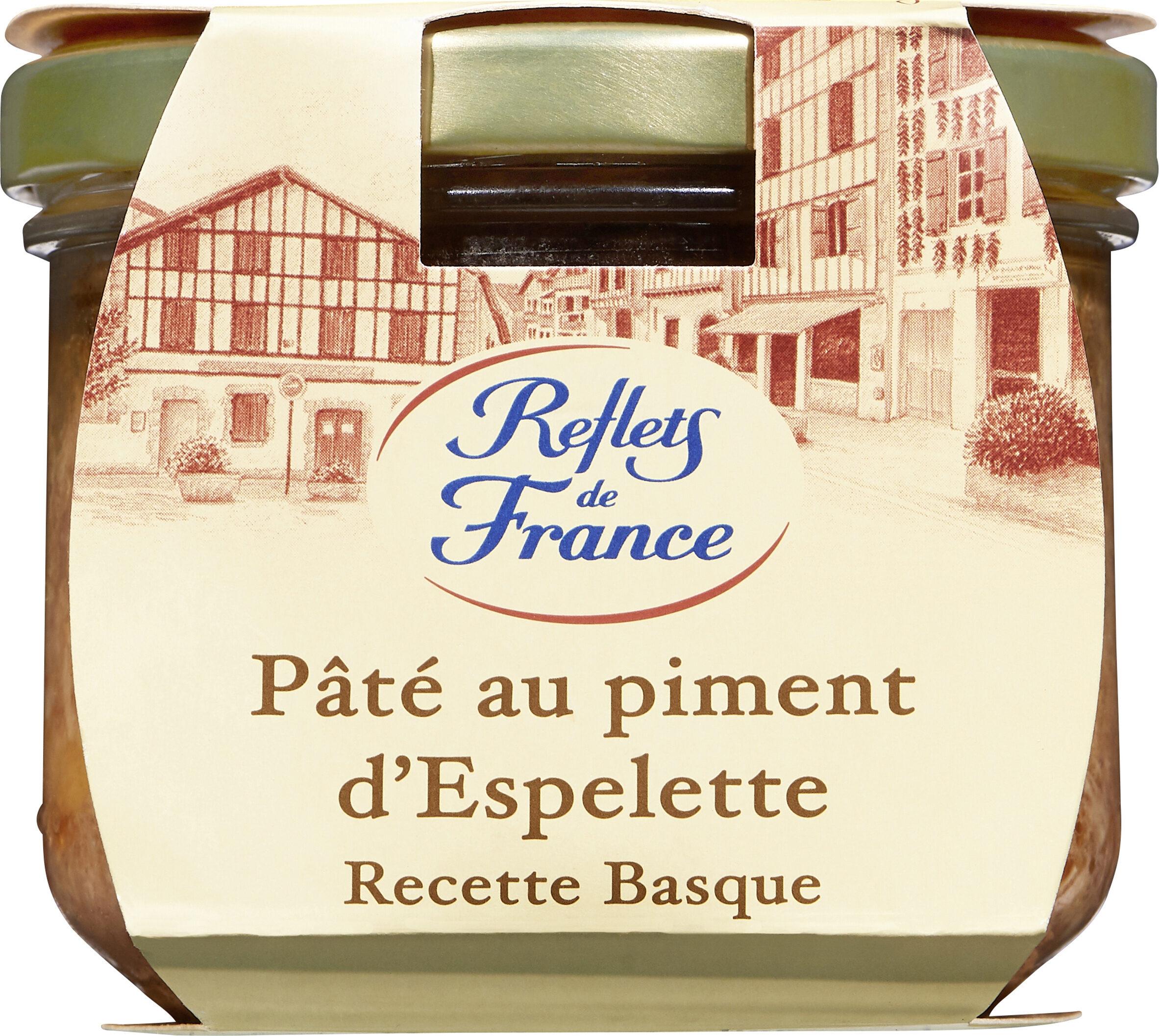PÂTE AU PIMENT D'ESP. Recette Basque, - Produit - fr