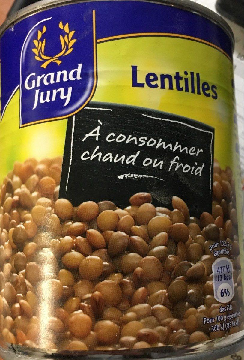 Bte 4 / 4 Lentilles Au Naturel Grand Jury - Product - fr