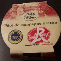 Pâté de Campagne au Porc Fermier préparé en Bretagne - Produit - fr