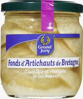 Fonds d'artichauts de Bretagne - 产品 - fr