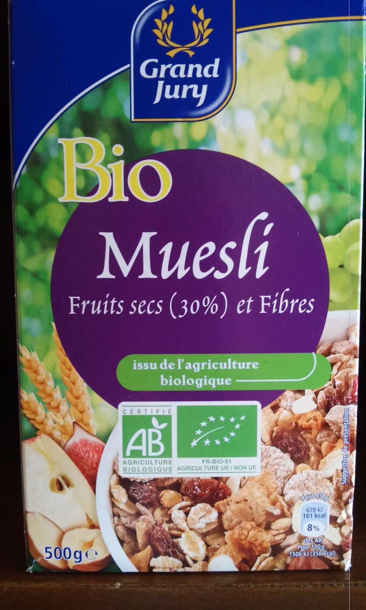 Bio muesli - Product