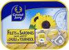 Filets de sardines sans arête à l'huile de tournesol - Product