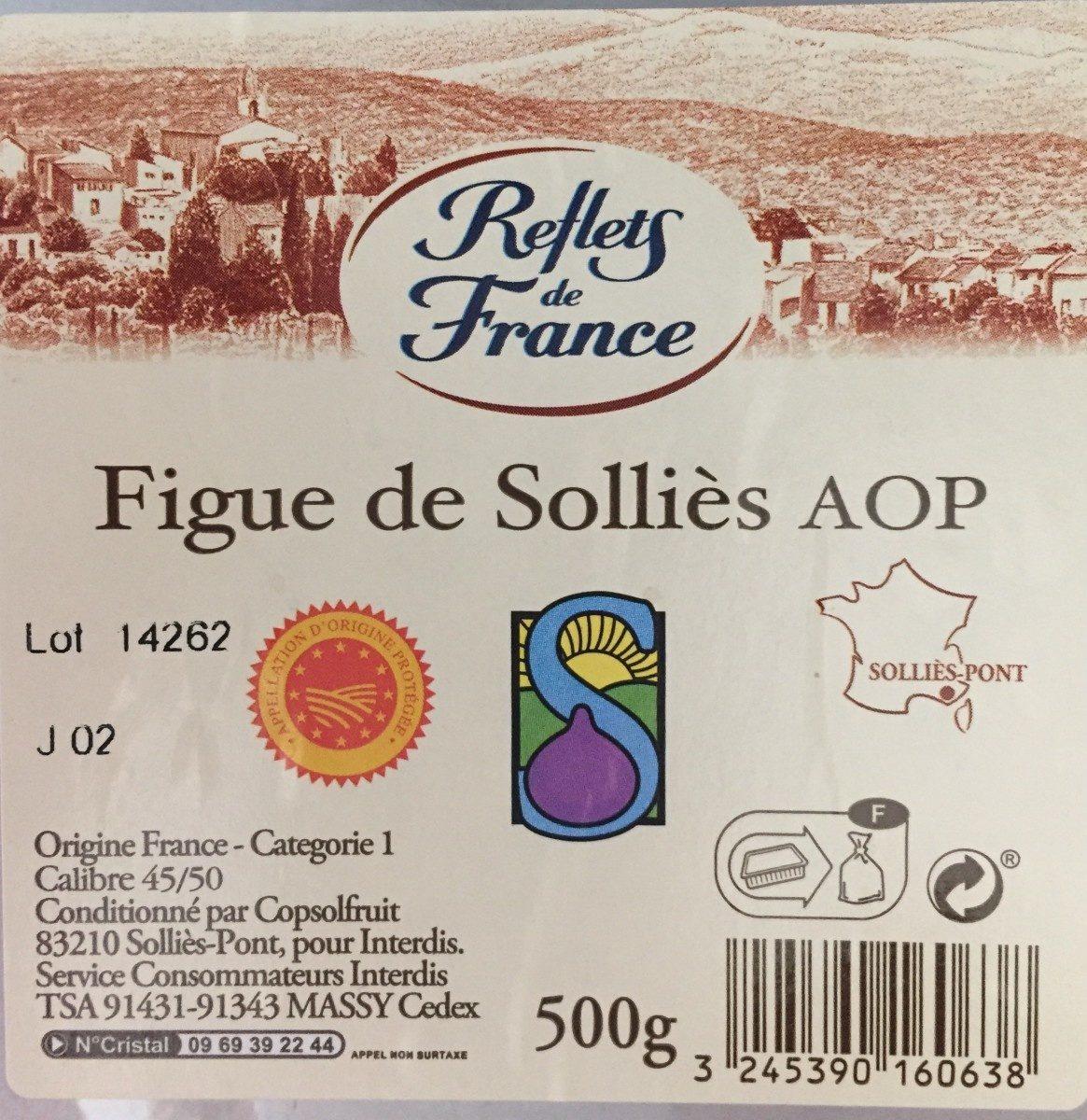 Figues de Solliès A.O.P. - Ingrediënten