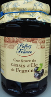 Confiture de cassis d'Ile de France - Product
