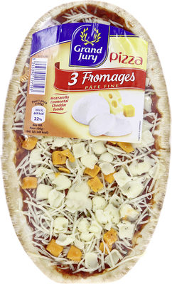 Pizza 3 fromages - Product