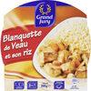 BQ Micro Onde 300G Blanquette Veau - Produit