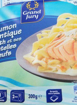 Saumon à l'Aneth et ses tagliatelles - Product