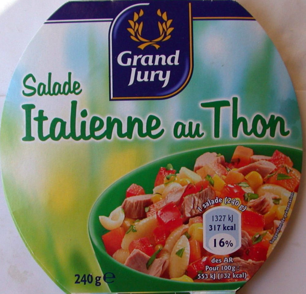 Salade Italienne au Thon - Produit