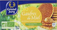 Gaufre Miel Bio - Prodotto - fr